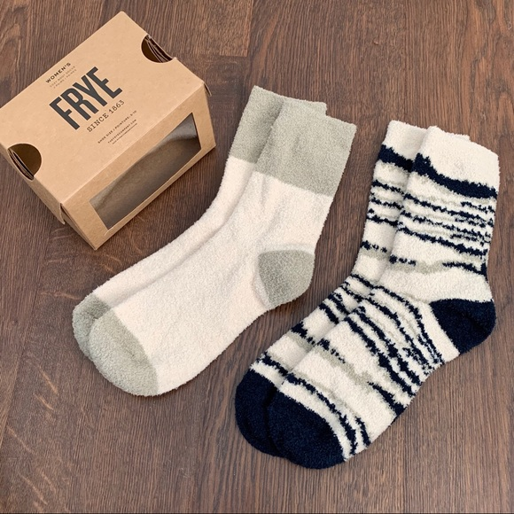 Frye Cozy Boot Socks box set of two pairs